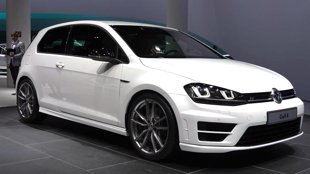 2014 Volkswagen Golf R Brings 300 Hp To The Frankfurt Motor Show