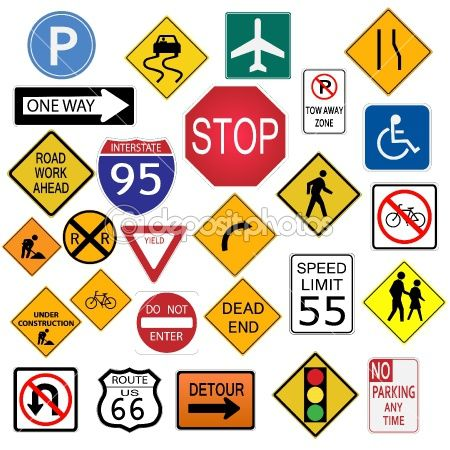 Road Signs Road Signs Drivers Ed Signs Clip Art