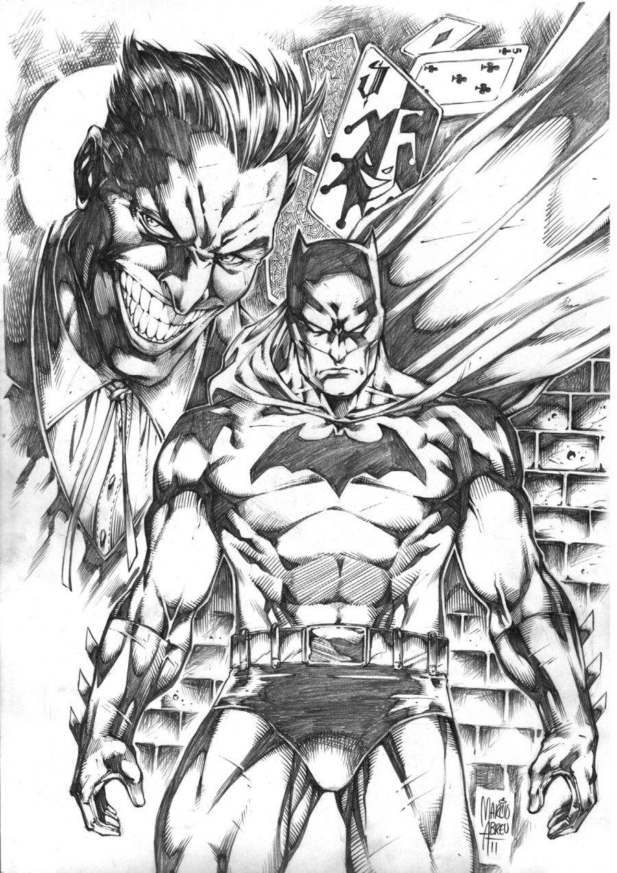 Batman Vs Joker By Marcioabreu7 Deviantart Com On Deviantart
