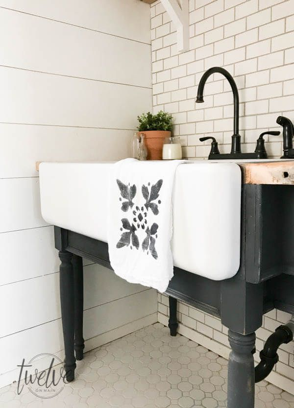 My 3d Room Design: My Farmhouse Laundry Room - One Year Later