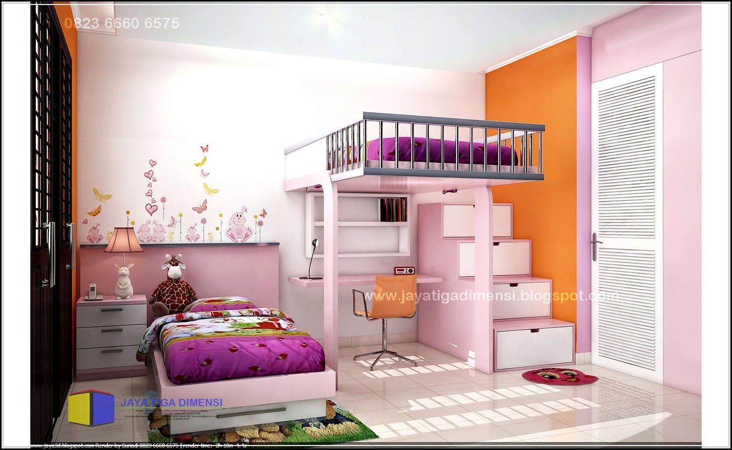kamar tidur minimalis anak perempuan kamar tidur anak on wall stickers stiker kamar tidur remaja id=82528