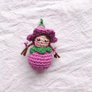Un modèle au crochet pour les enfants de fleurs sucrées   – Tiere häkeln anleitung kostenlos
