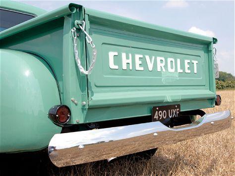 1954 Chevy Instandhaltung / Restaurierung von Oldtimern: das Material für neue ...  - Pickup-Truck