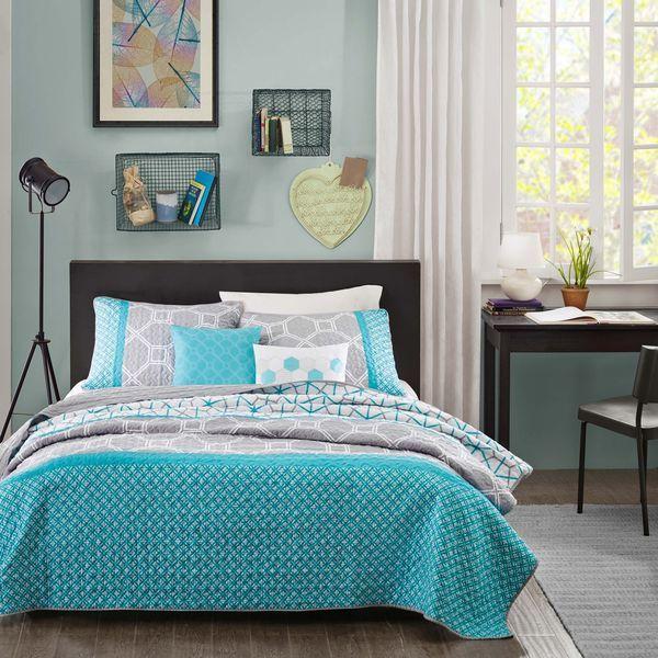 Intelligent Design Zara 5-piece Coverlet Set - Overstock Shopping