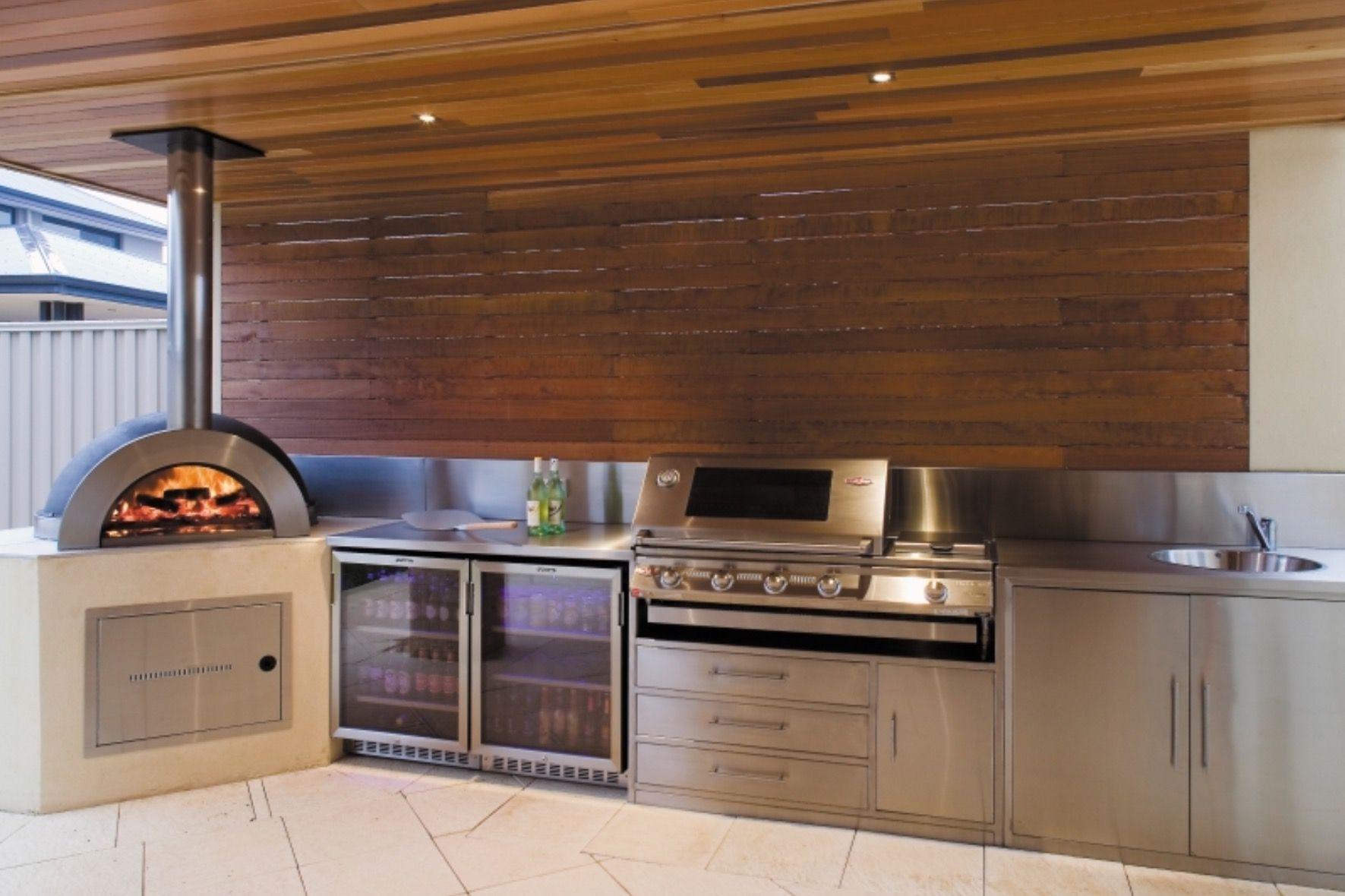 Barbeque Area Modern Outdoor Kitchen Outdoor Kitchen Design