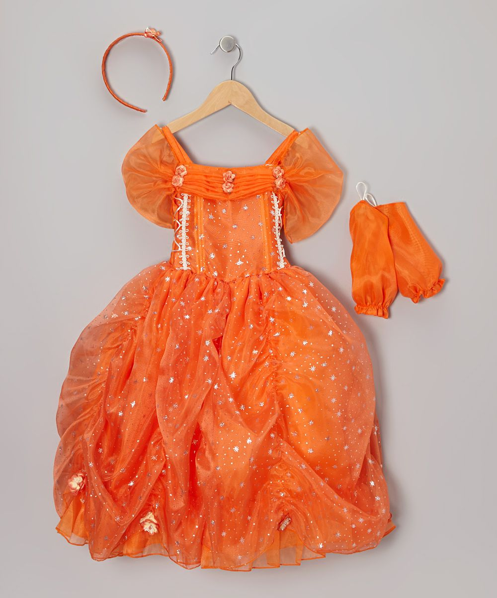 Orange Star Princess Dress Up Set Toddler Girls Daily Deals For Moms Babies And Kids Dress Up Outfits Kids Dresses Princess Outfits