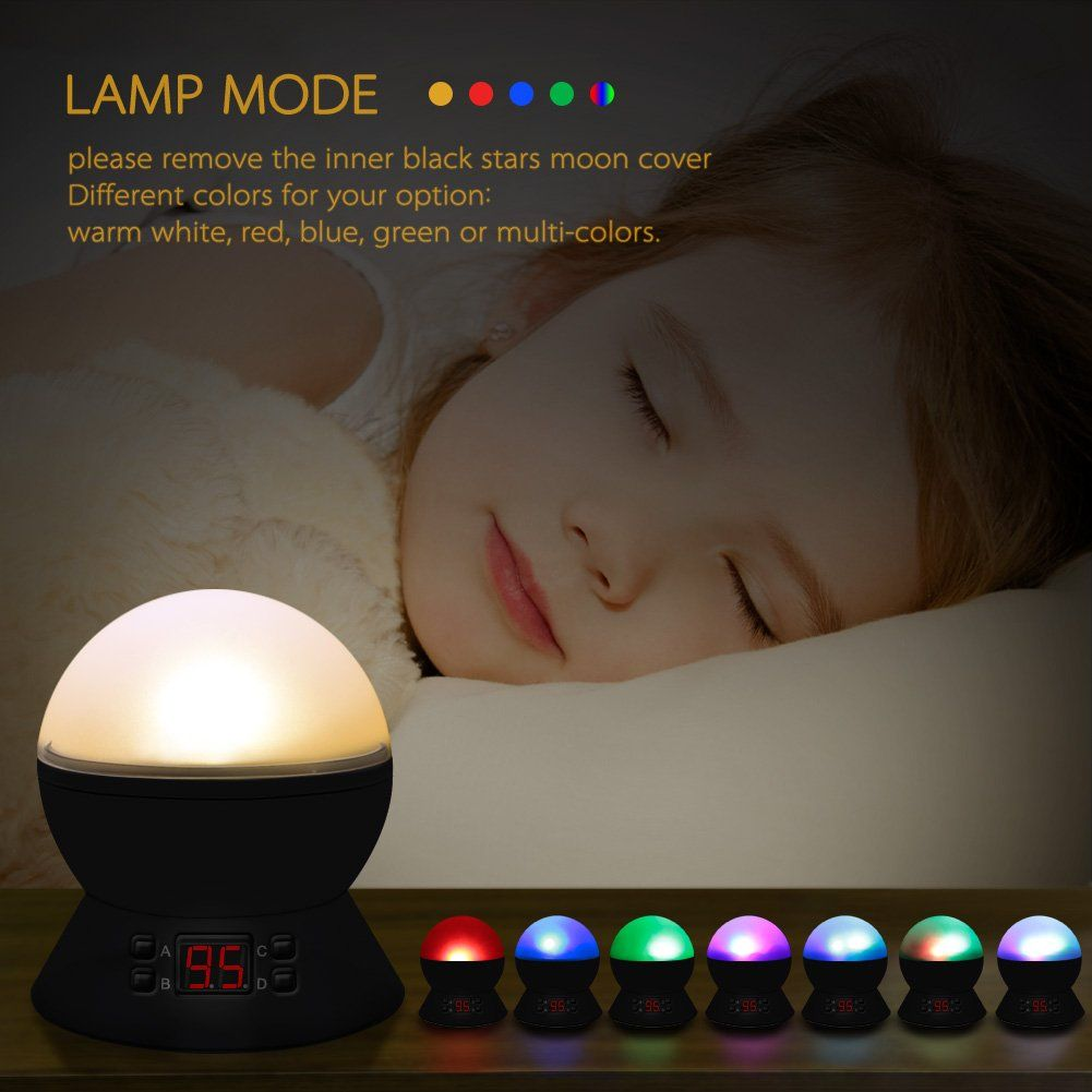 Star Sky Night Lampanteqi Baby Lightsa 360 Degree Romantic Room