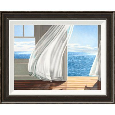 East Urban Home \'Ocean Escape\' Oil Painting Print Format: Providence ...