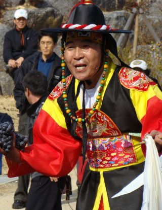 Korean Shaman,called a Mudang.