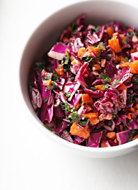 Summer Slaw with Lime Vinaigrette - perfect side for tacos