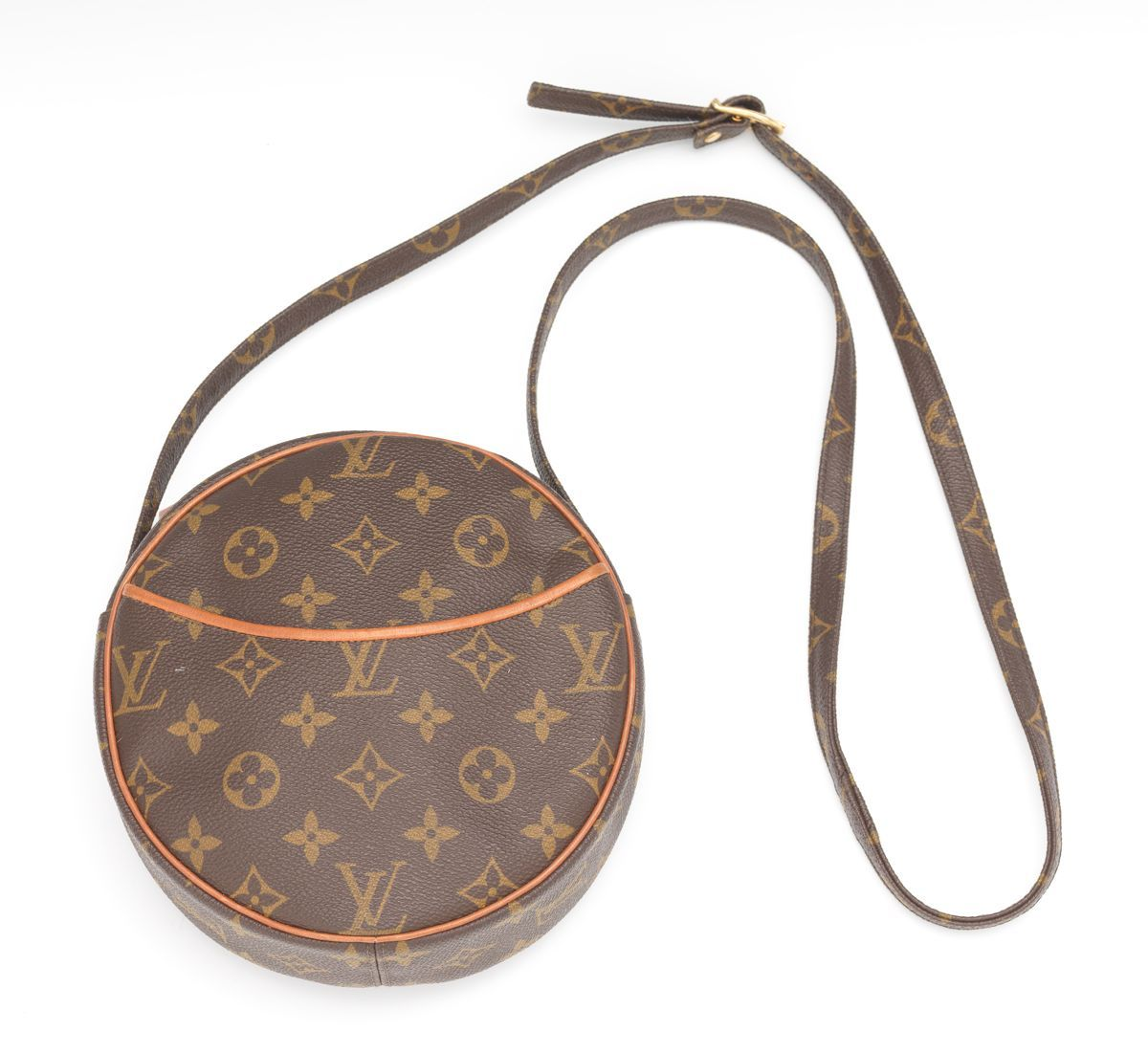 bd44872574eb Louis Vuitton Vintage Monogram Canvas Round Crossbody Bag by French Company