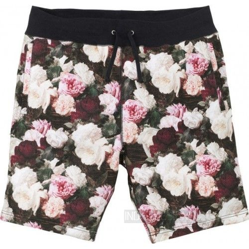 Indie Designs Power Corruption Lies Flower Print Short