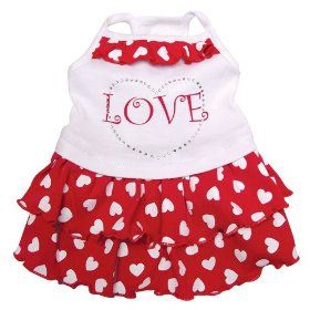 Adorable Sundress Sparkling Rhinestones Hearts. http://todaydeals.me/viewdetail.php?asin=B0051D6QZO