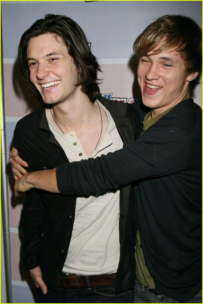 Ben Barnes & William Moseley. I enjoy these boys! =]   Ben