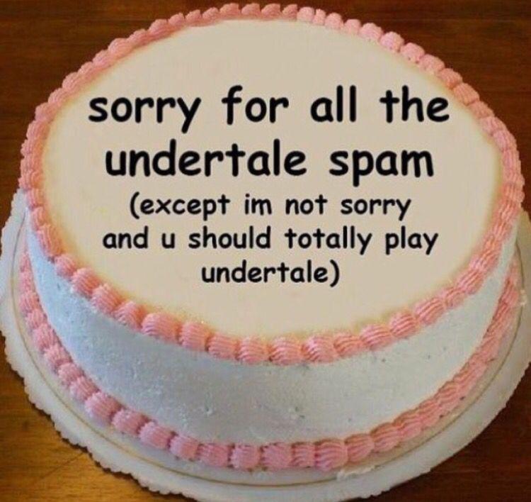 Undertale Spam