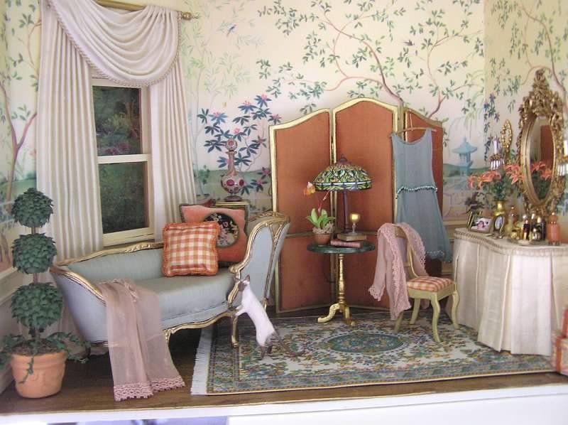 Dressing room by susanminiatures