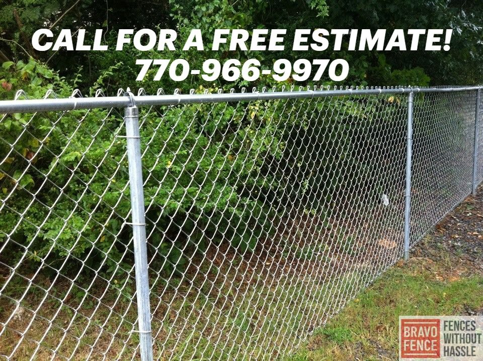 Chain Link Fence Installation Kennesaw Ga Chain Link Fence