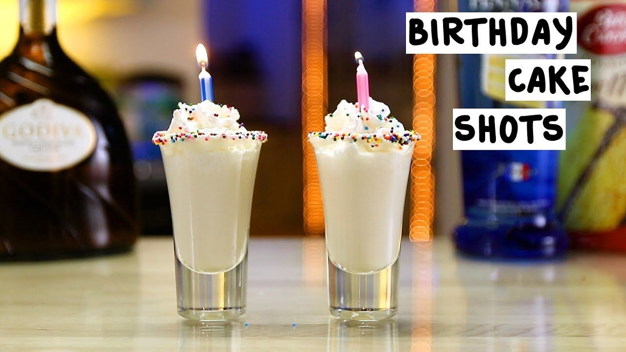Phenomenal Birthday Cake Shots Recipe Cake Shots Chocolate Cake Shot Funny Birthday Cards Online Alyptdamsfinfo