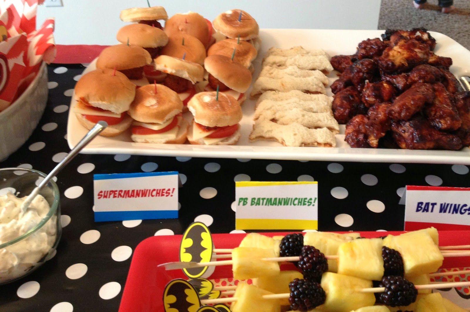 Simply Sarah Style Super Hero Birthday Party Recap