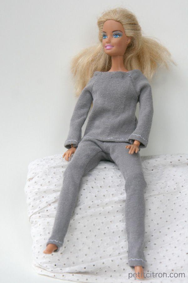 Nouveau patron pour Barbie : le leggings | Nähen