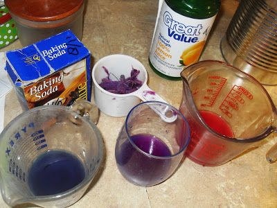 All Purple Sweet Potato -  They are purple, and apparently the anthocyanin - the chemical that makes them purple - is really healthy for you. While researching anthocyanin I came across a comment that noted that the anthocyanin chemical acts a bit like a crude pH meter. The color of the purple juice extracted by purple crops will turn from purple to red in the presence of lemon juice and from purple to green in the presence of baking soda.