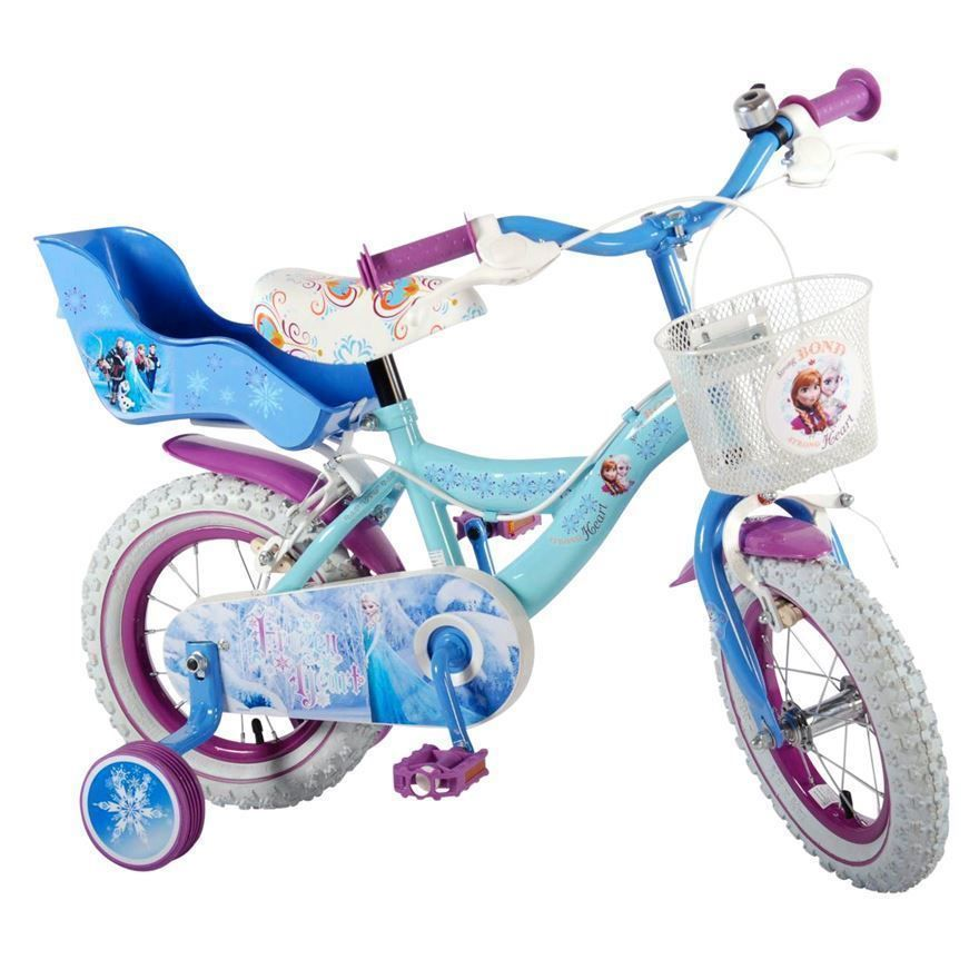 Girls #disney #frozen bike toddler princess fun ride else anna doll ...