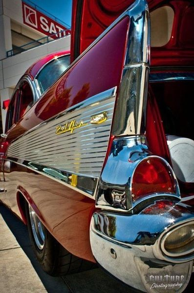 Almost all the old cars that I fall in love with are Bel Air