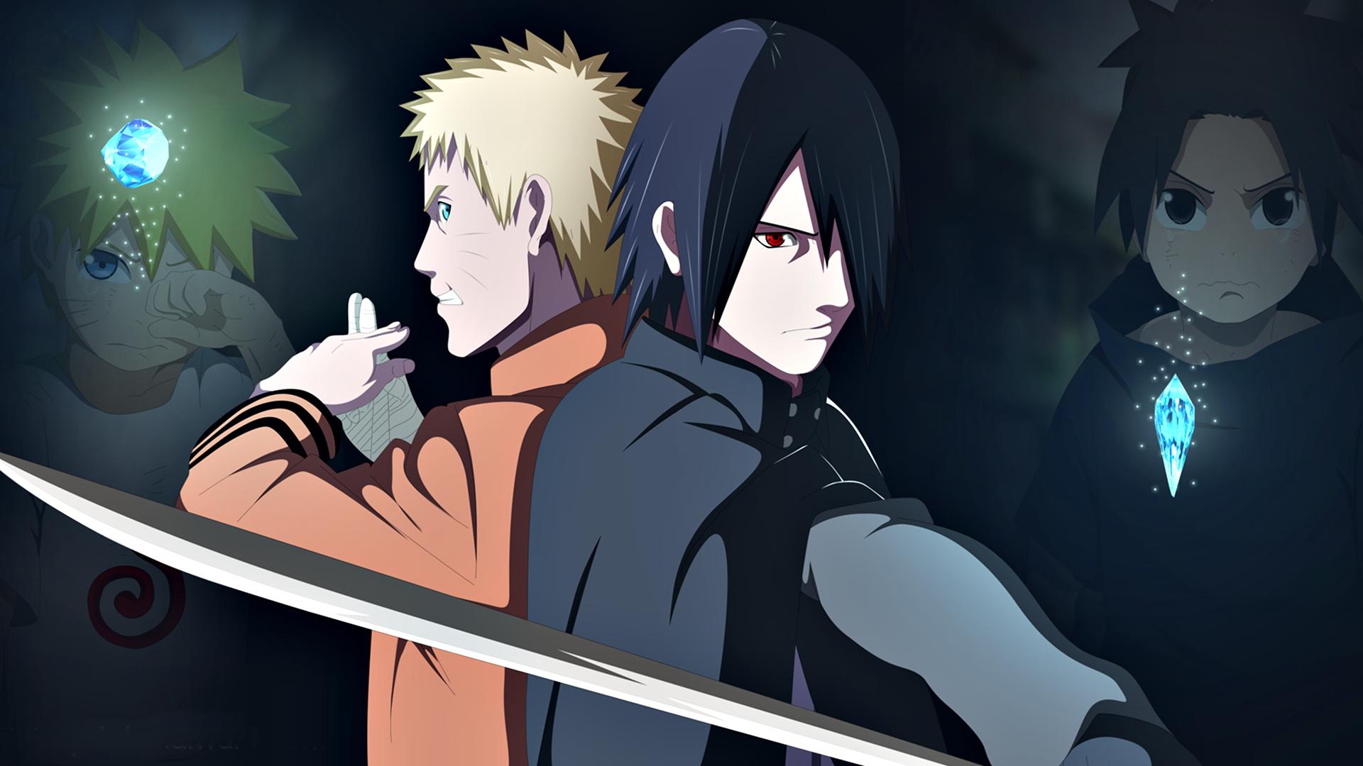 Anime Naruto Naruto Uzumaki Sasuke Uchiha Tapeta Naruto