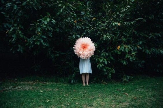 Tiffanie Turner Challenges Scale And Age In Her Giant Paper Mache Flowers - Beautiful/Decay