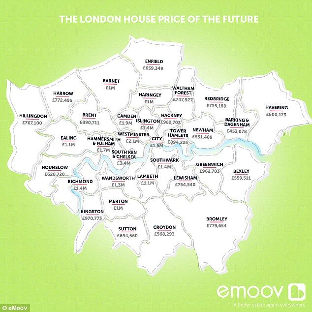 How Much Will Your House Be Worth In 2030 Uk House Price Map
