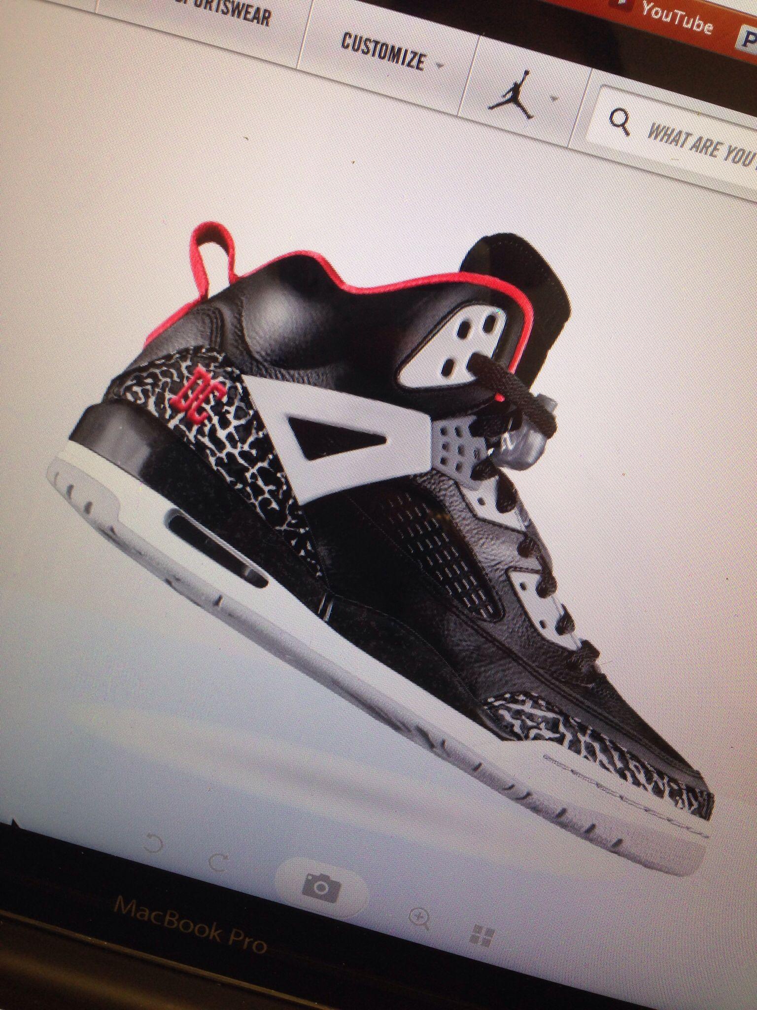 santo Abrasivo raqueta  My custom Nike Air Jordan Spizike kicks...DC special #AirJordan Nike ID    Air jordans, Nike id, Nike air