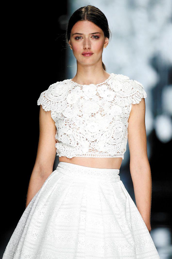 vestido de novia crochet. berenguer | irish crochet | pinterest