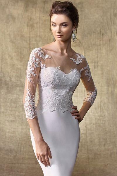 Photo of Wedding Dress out of Enzoani – Jacket V