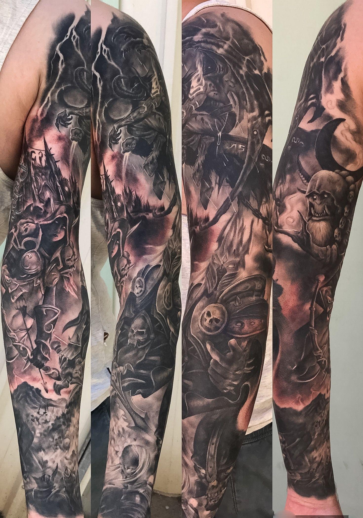 World Of Warcraft Tattoos By Samantha Sharland Tattoos Aquarius