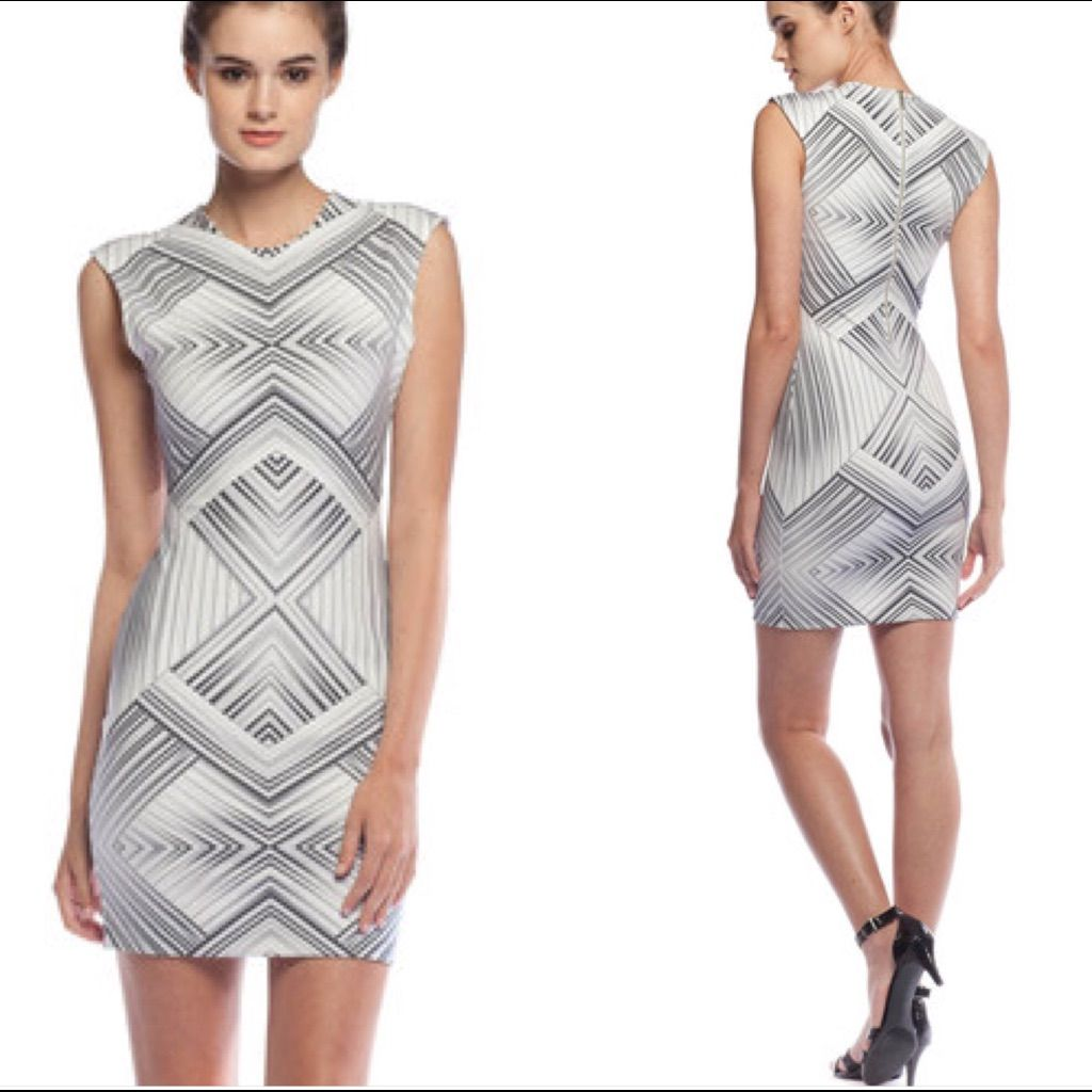 Torn By Ronny Kobo Bodycon Dress