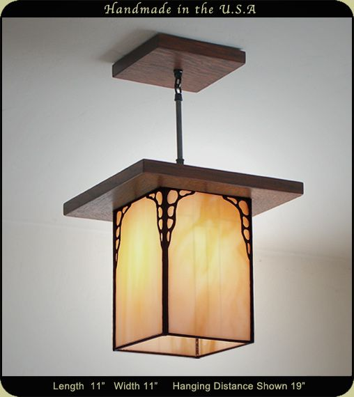 Mission Lantern Antique Style 651 Craftsman Lighting Mission