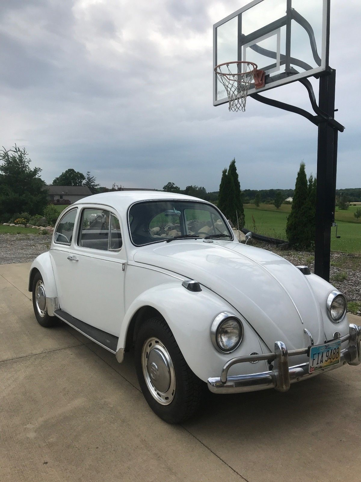 Ebay 1967 Volkswagen Beetle Classic 1967 White Beetle With Many Original Parts Classiccars Cars Volkswagen Beetle Classic Cars Beetle