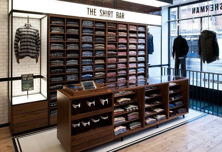 Epingle Par Brossard Sur Concept Textile Interieur Boutique Agencement Magasin Etalages De Magasin