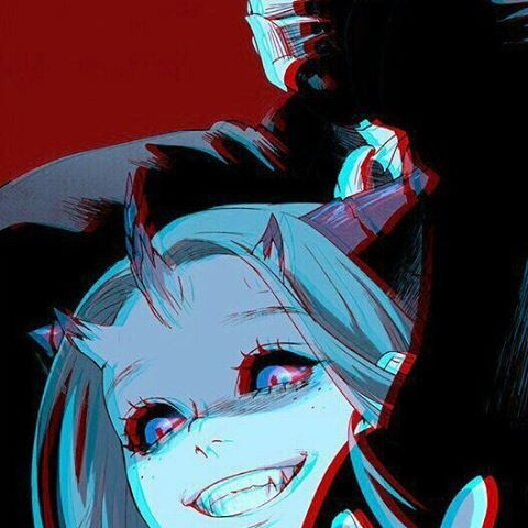 Red Color Died Smile Girl Draw Art Horror Horrible Dark Darkness Manga Mad Animedrawing Anime Creepy Scary Girl Kil Horror Drawing Anime Art