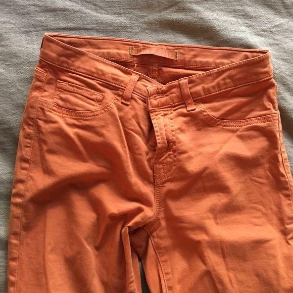 JBRAND - Orange skinny jeans JBRAND - Orange skinny jeans J Brand Jeans Skinny