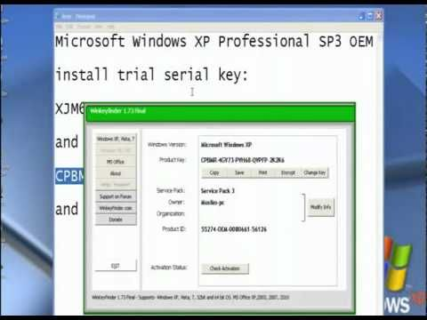 Windows XP Professional With Service Pack 3 X86 Retail CD English XVGU
