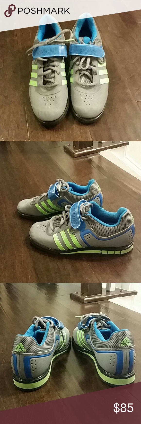 bfb98f6f89f0 Adidas powerlifting shoes Men s size 6.5
