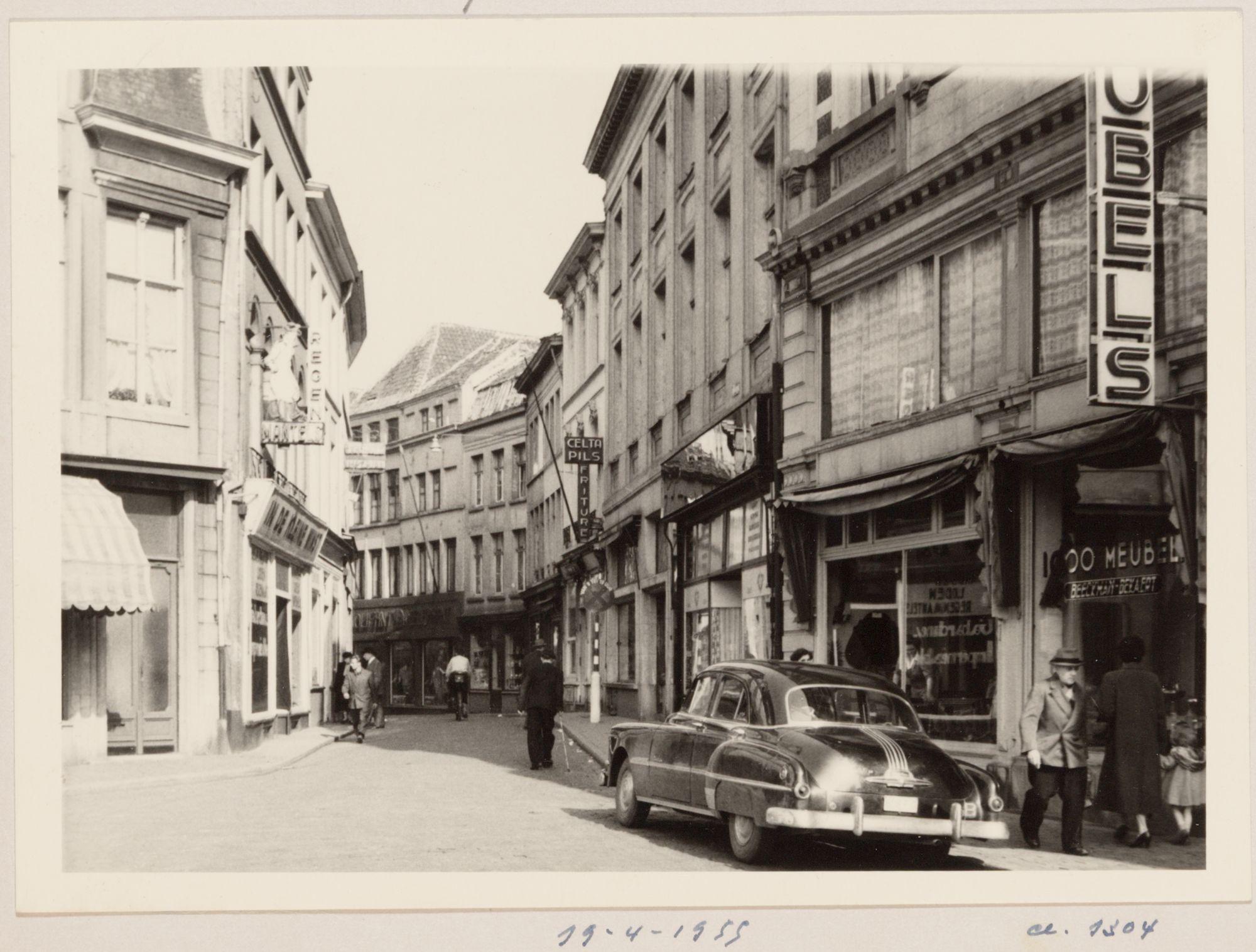 Gent - de donkersteeg 1955