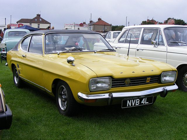 Ford Capri Mk 1 German One Of My First Cars Daytona Yellow