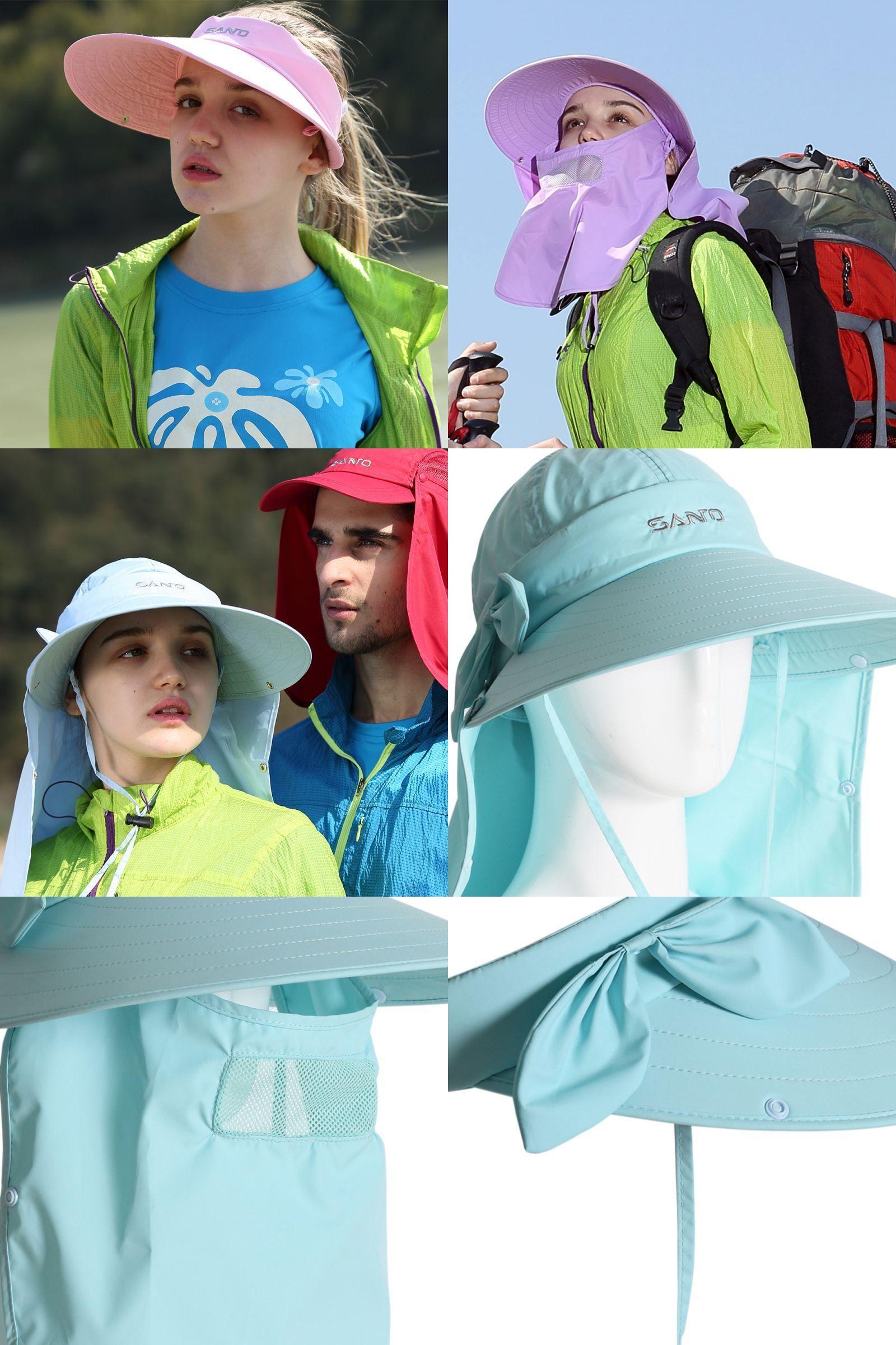 727cef97187  Visit to Buy  Bush Hats Wide Brim Sun Caps Outdoor Cap Hiking Camping Visor