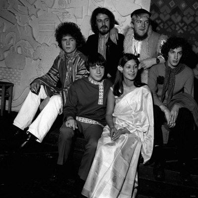 56aa304fc Pop Band the Animals at Eric Burdon Wedding 1967, to Angie King at Speak  Easy Club in London