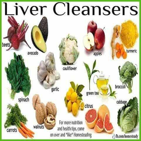 12 Foods to Help Fatty Liver Reversal