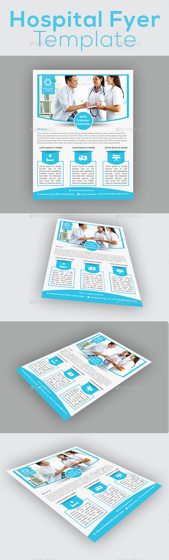 Hospital Flyer Template | Hospital Flyer Template Pinterest Flyer Template Template And