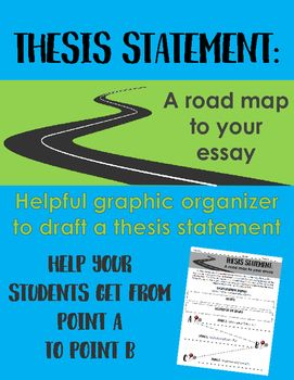 Writing A Thesis Statement A Road Map For Your Essay  Graphic