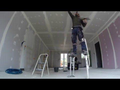 Effectuer La Finition Et Les Joints Des Murs De Placoplatre Youtube Travaux Salle De Bain Bricolage Maison Amenagement Maison